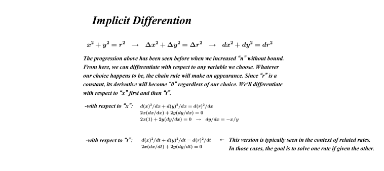 Implicit Diff and Chain Rule